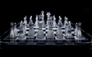 Beautiful Chess Pieces